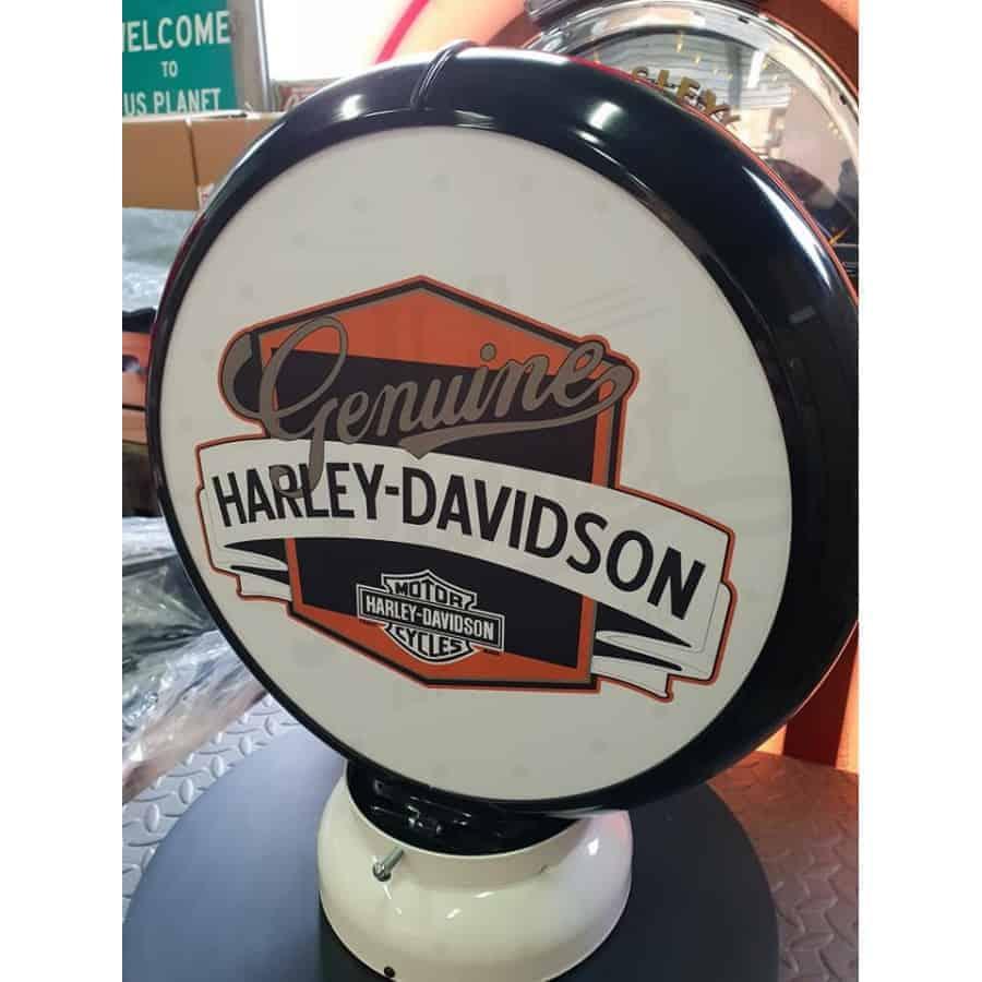 Globe De Pompe A Essence Harley Davidson Genuine 1