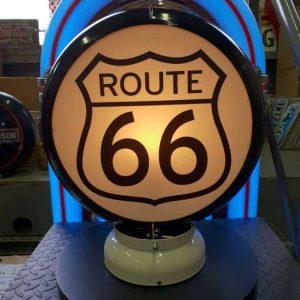 Globe De Pompe A Essence Route 66 2