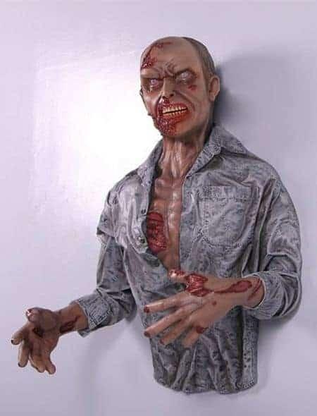 Statue Zombie Pour Decoration Halloween Walking Dead