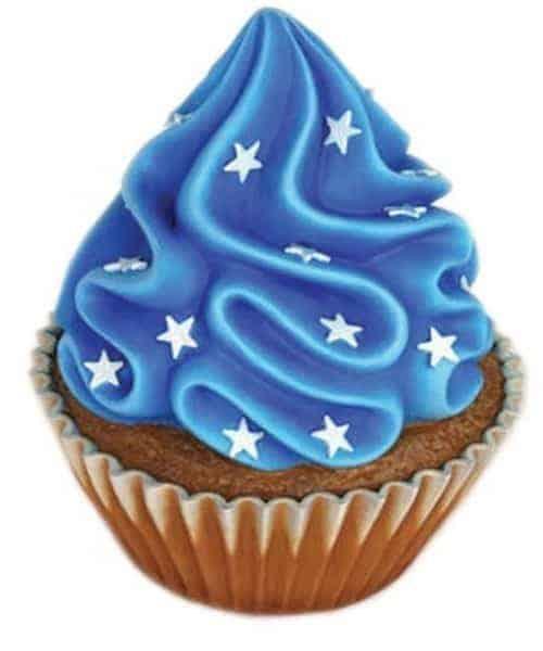 Cupcake Bleu 2822
