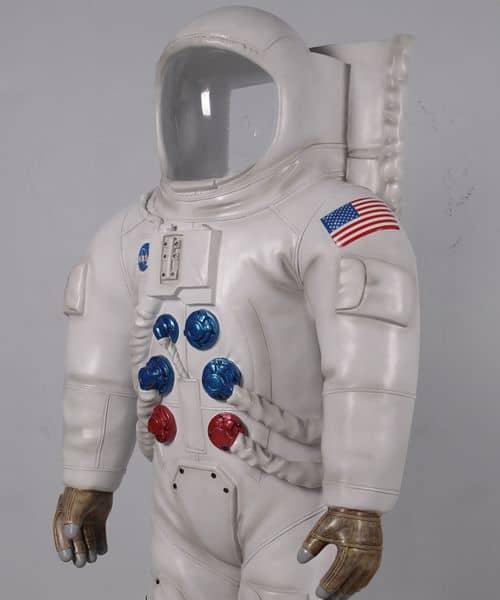Scaphandre De Cosmonaute Passe Tete