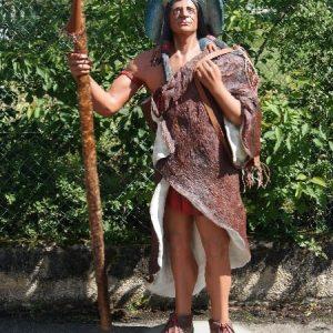 Statue à taille réelle INDIEN SORCIER - MEDECINE MAN