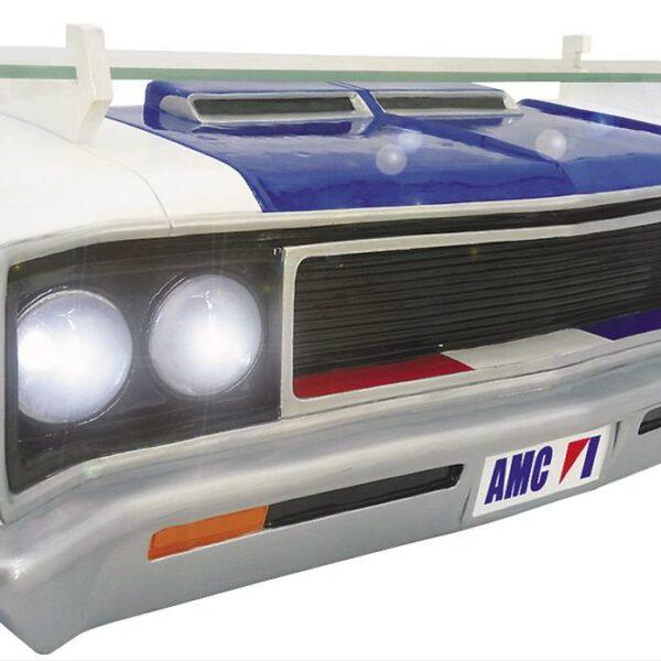 Etagère murale GM 1970 AMC Rebel Machine (avec lumières)