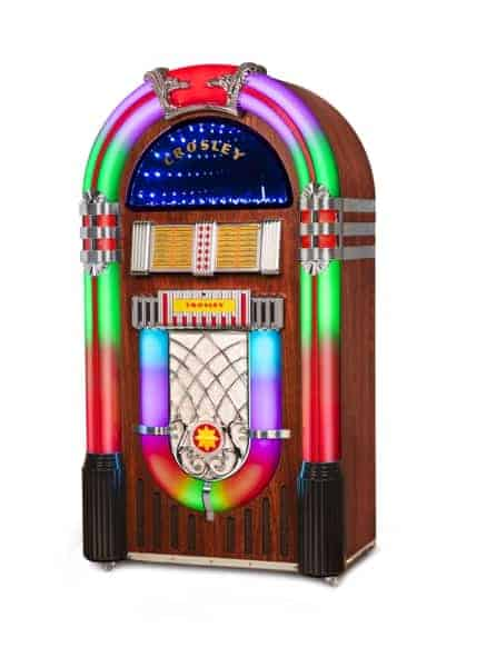 FULL SIZE BLUETOOTH JUKEBOX MODEL NUMBER CR1215A-WA