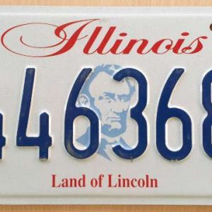 Plaque d'immatriculation américaine - ILLINOIS