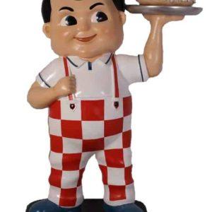Statue Du Célèbe Bob Big Boy Effigie Des Restaurants Du Même Nom De La Côte Ouest Des Usa