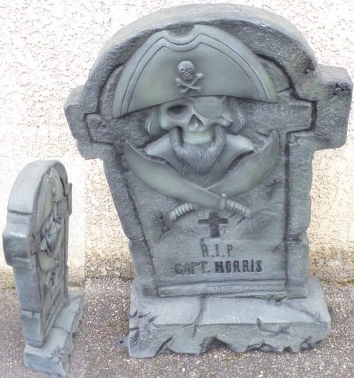 Tombe Du Pirate Capt Morris