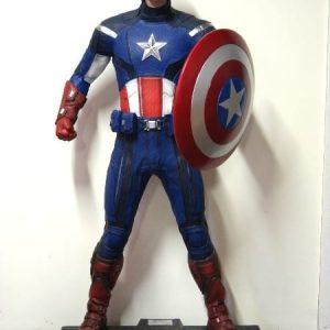 Statue de Captain America