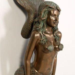 Figure De Proue Sirene Bateau Pirate Statue En Resine Et Fibre De Verre Location Vente 1