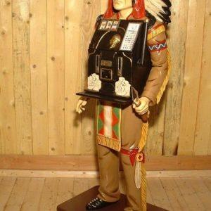 Indien Jackpot Machine A Sous Statue Su6963