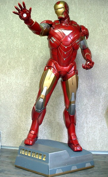 Ironman Taille Reelle Super Hero Marvel Comics 1