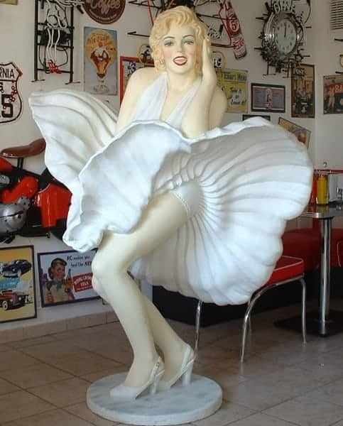 Marilyn Monroe Statue Taille Relle 610