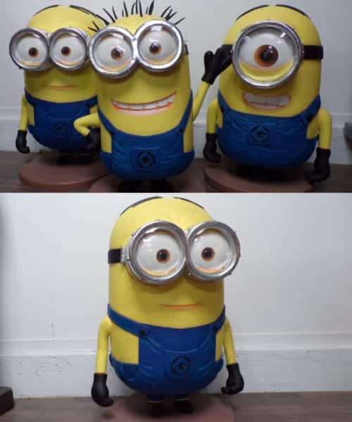 Minions Statues Taille 1m