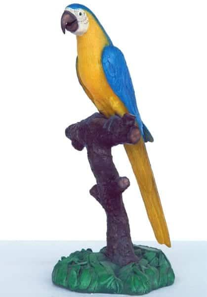 Perroquet Bleu Jaune