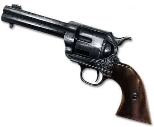 Plaque Metal Revolver 59d068