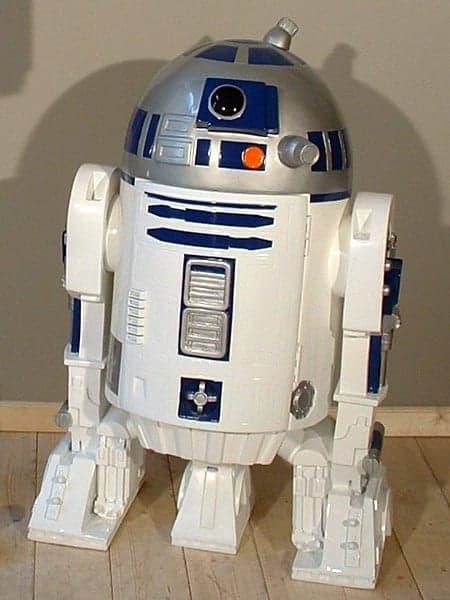 R2d2 Su 4955 Statue 1m En Resine Et Fibre De Verre Theme Cinema Star Wars