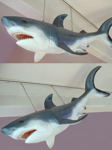 Requin 2m50 Decoration Plage Mer Ocean Moulage Taille Reelle En Resine Et Fibre De Verre Vente Et Location Evenementiel 1