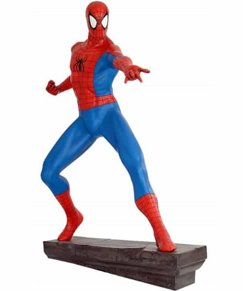 Spiderman Figurine Grandeur Nature Stsspidd
