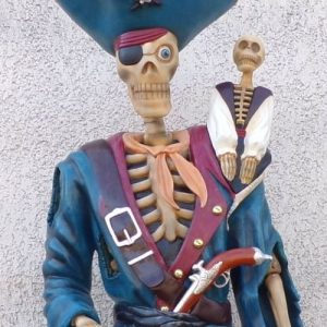 Squelette Pirate Et Singe 2