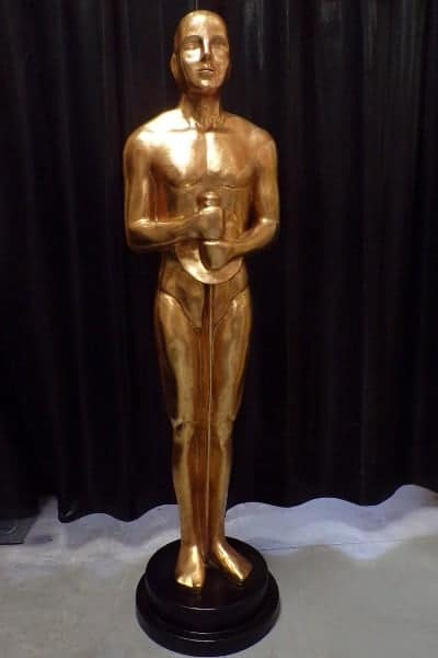 "Statue des ""Oscar"" d'Hollywood"