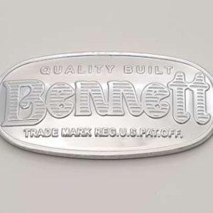 Pompe A Essence Americaine Bennett Serie 600 Logo Repro 800
