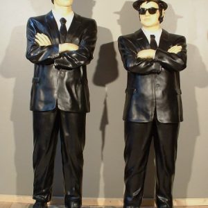 Blues Brothers Debout Statue Grandeur Nature Jake 1m75 Et Elwood 1m90 Vente Et Location Evenementiel