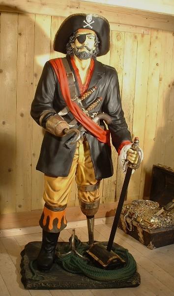Capitaine Crochet St 840 Statue Grandeur Nature 1m90 En Resine Et Fibre De Verre Location Vente