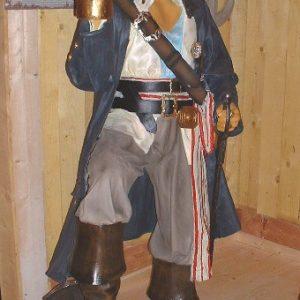 Pirate Caraibes St 2518 Statue Grandeur Nature 1m85 En Resine Et Fibre De Verre Location Vente
