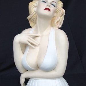 Buste De Marilyn St 2363 Statue Grandeur Nature En Resine Et Fibre De Verre Statue Taille Reelle
