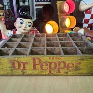 Caisse En Bois De Transport De Bouteilles De Soda Dr Pepper Coca Cola 49