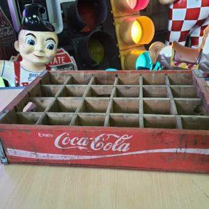 Caisse En Bois De Transport De Bouteilles De Soda Dr Pepper Coca Cola 49 6