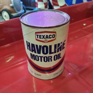 Bidon Motor Oil Texaco Havoline