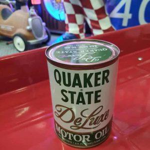 Bidon Huile Motor Oil Quaker State1 Us Qt