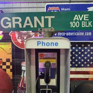 Panneaux Verts Des Rues Américaines 90.5x15.5cm Grant Ave 100 Blk A