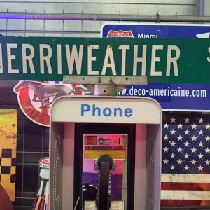 Panneaux Verts Des Rues Américaines 90.5x15.5cm Merriweather St 1