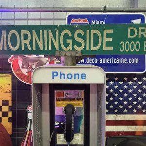 Panneaux Verts Des Rues Américaines 90.5x15.5cm Morningside Dr 3000 Blk