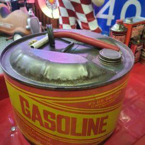 Bidon de transport d'essence - Vintage Gas Can 2.5 gallons