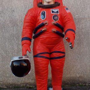 Stardust. Astronaute star s'apprêtant à aller voir si il y a de la vie sur Mars