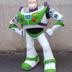 Statue de Buzz l Eclair du dessin anime Toy Story Buzz Lightyear