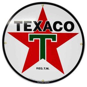 Texaco 12″ Sign