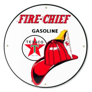 Texaco Fire Chief 12″ Sign