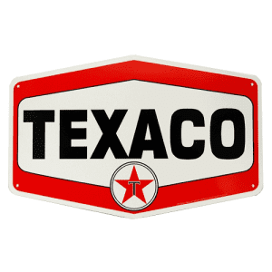 Texaco Hex Sign Large