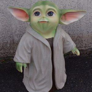 Statue de Bébé Yoda Le jeune Jedi de la série Le Mandalorian