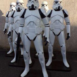 Statue de Soldat des troupes d'assaut intergalactique de L'Empire - Star Wars