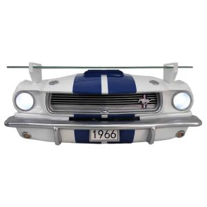 1966 shelby gt350 wall decor with lights and shelf 3