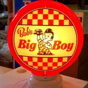 bob's big boy restaurant globe de pompe a essence americaine
