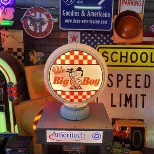 gas pump globe design fashion bob's big boy restaurant (frisch – elias brother)