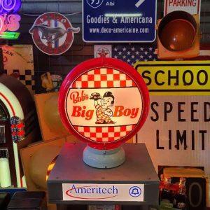 gas pump globe design fashion bob's big boy restaurant (frisch – elias brother) 1