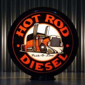 Globe De Pompe A Essence Americaine Hot Rod Diesel Push O Line