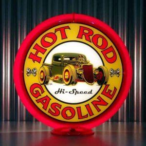 Globe De Pompe A Essence Americaine Hot Rod Gasoline Hi Speed